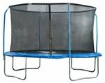 Каркасный батут Start Line Fitness 10FT с внутренней сеткой и держателями 305х305 см