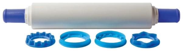 Скалка Tupperware с кольцами-насадками 50 см