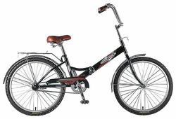 Подростковый городской велосипед Novatrack FS-24 1 (2018)