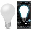 Лампа светодиодная gauss 102202210, E27, A60, 10Вт