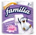Туалетная бумага Familia Plus Волшебный цветок