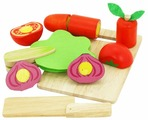 Набор продуктов с посудой Vulpi Овощи 17012
