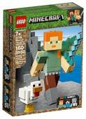 Конструктор LEGO Minecraft 21149 Алекс с цыплёнком