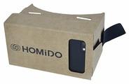 Очки виртуальной реальности для смартфона HOMIDO Cardboard v1.0