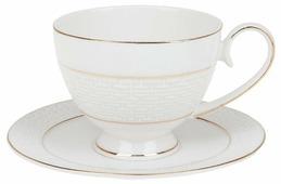 "Best Home Porcelain Набор чайных пар ""Лабиринт"" 4 предмета, 250 мл (подарочная упаковка)"