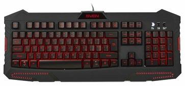 Клавиатура SVEN Challenge 9100 Black USB