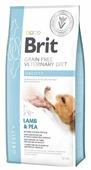 Корм для собак Brit Veterinary Diet при избыточном весе, ягненок с горошком
