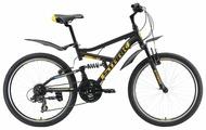 Подростковый горный (MTB) велосипед STARK Rocket 24.2 FS V (2019)