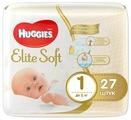 Huggies подгузники Elite Soft 1 (до 5 кг) 27 шт.