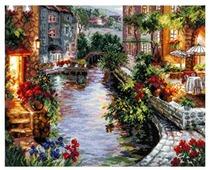 Чудесная Игла Набор для вышивания Вечер в Венеции 40 x 32 см (46-02)