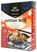Лапша Sen Soy Wok гречневая с соусом якисоба по-японски 235 г