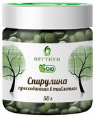 Оргтиум Спирулина прессованная в таблетки, 50 г