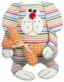 Малиновый слон Набор для изготовления мягкой игрушки Пёс Лучик (ТК-002)
