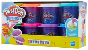 Масса для лепки Play-Doh Plus Набор 8 банок (A1206)