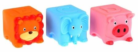 Набор для ванной Играем вместе 3 кубинка (LNX29-30-31)