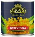 Кукуруза сладкая MIKADO жестяная банка 340 г
