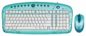Клавиатура и мышь G-CUBE GKSE-2728W USB