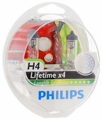 Комплект автомобильных ламп Philips H4 12342LLECOS2