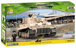 Конструктор Cobi Small Army World War II 2519 Танк Tiger I 131