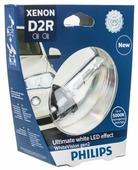 Лампа автомобильная ксеноновая Philips WhiteVision gen 2, 85122WHV2S1, D2S 85V-35W (P32d-2) 1 шт.