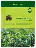 Farmstay маска с натуральным экстрактом семян зеленого чая