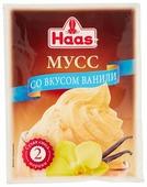 Смесь для десерта Haas ванильного 65 г