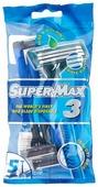 Бритвенный станок Super Max 3, одноразовый
