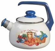 METROT Чайник cо свистком Прованс 2,5 л