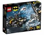 Конструктор LEGO DC Super Heroes 76118 Гонка на мотоциклах с Мистером Фризом