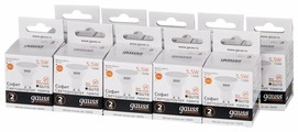 Упаковка светодиодных ламп 10 шт gauss 13616, GU10, R50, 5.5Вт