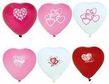 Набор воздушных шаров Action! сердечки (10 шт.)
