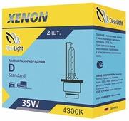 Лампа автомобильная ксеноновая ClearLight D3S 430-STD 2 шт.
