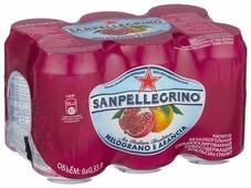 Газированный напиток Sanpellegrino Melograno e arancia Гранат и апельсин