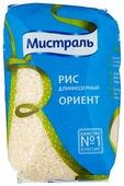 Рис Мистраль Ориент белый шлифованный длиннозерный 900 г