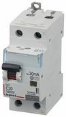 Дифференциальный автомат Legrand DX3 1P+N C 16A 30мА 6kA 2M / 411002