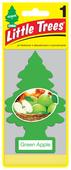 Car-Freshner Ароматизатор для автомобиля, U1P-10316-RUSS, Зеленое яблоко