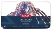 Derwent Цветные карандаши Coloursoft, 36 цветов (D-0701028)