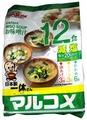 MARUKOME Суп Мисо с пониженным содержанием соли (12 шт.) 260 г