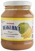 Пюре Капитан Припасов Мамина неженка яблочно-банановое с сахаром банка 260 г