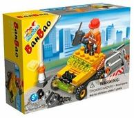 Конструктор BanBao Строительство 8529 Строитель на машине