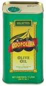 Coopoliva Масло оливковое Pure, жестяная банка