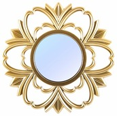 Зеркало Русские подарки настенное 237913 24х24 в раме