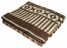 Одеяло ARLONI Ацтеки шерстяной жаккард