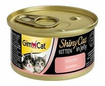 Корм для кошек GimCat ShinyCat Kitten с курочкой