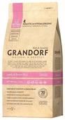Корм для кошек Grandorf Ягнёнок с рисом KITTEN