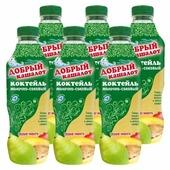 Сокосодержащий напиток Добрый кашалот груша-манго 0.05%, 930 г