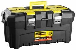 Ящик с органайзером STAYER Titan 38016-22 58x32x28 см 22.5''
