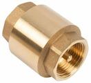 Обратный клапан одностворчатый UNIPUMP 77027 муфтовый (ВР/ВР), латунь,,