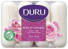Мыло кусковое DURU Pure & natural Роза