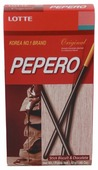 Соломка с шоколадом Pepero Original Lotte 47 г